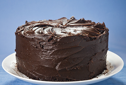 ... PHotos Wallpapers : MicroWave Indian Sweet Double Layer Chocolate Cake